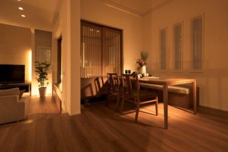 2階にいる家族と会話できるダイニング(キッチン)