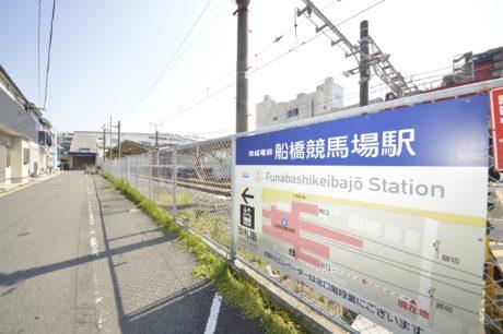 京成本線/船橋競馬場駅入口